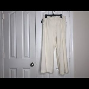 Off White (not the brand but the color) Dress Pant